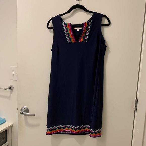Jude Connally Dresses & Skirts - Jude Connally Navy shift dress